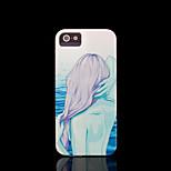 / iphone caso della copertura del modello di bellezza per caso di iphone 4 4 s