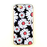 Sunflower Pattern TPU And IMD Soft Case For iPhone 5/5S