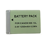 13L 1250mah kamera batteri for Canon Powershot G7 x