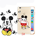 Big Hero 6 Baymax Cosplay Cartoon Animal Color Printed Ultra-thin TPU Soft Back Cover Case for iPhone 5 5S