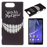 Tooth Pattern Painted PC Material Phone Case for Sony Z3 Mini