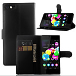 Litchi Around Open Bracket Leather Phone Wallet Card Suitable for Wiko Highway Star 4G (Assorted Color)