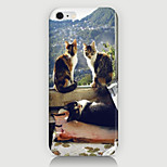Three Cats Pattern Case Back Cover for Phone6 Plus Case
