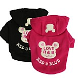 Stylish Mouse Pattern Hoodies T-Shirt for Pets Dogs (Assorted Colours and Sizes)