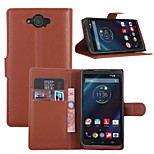 Litchi Around Open Bracket Leather Phone Wallet Card Suitable for Motorola Droid Turbo XT1254(Assorted Color)