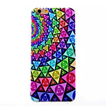Gradual Change Pattern TPU Painted  Soft Back Cover for iPhone 6
