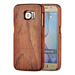 Magic Spider® Wooden Material Pattern Protective Back Case with Screen Protector for Samsung Galaxy S6(Assorted Colors)
