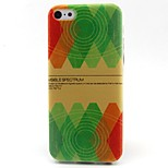 Painted Pattern TPU Material Soft Phone Case for iPhone 5C
