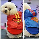 ABPET Lovely Dog's Superman Dress