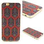 Stripe Pattern TPU Material Phone Case for iPhone 6