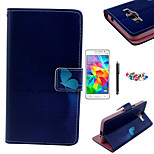 KARZEA™Blue Butterfly Pattern PU Leather Case with Screen Protector Stylus and Dust Plug for Samsung Grand Prime G530