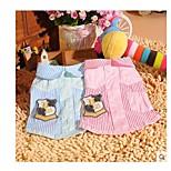 defenghandsome Frühjahr / Sommer gestreiften Hemd Welpen Hund Kleidung Teddybär VIP kleinen Chihuahua Hund Kleidung