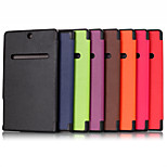 Luxury Custer Leather Flip Full Body Cases with Stand Function for Dell Venue 8 7000/7480 (Assorted Colors)