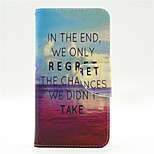 Calm Sea Pattern PU Leahter Full Body Case with Card Slot for Microsoft Lumia 640