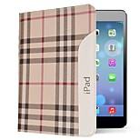 style britannique étui en cuir véritable avec pliage air stand iPad (couleurs assorties)