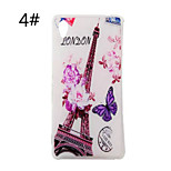 Glossy Ultrathin Painted Butterfly World Series TPU Soft Case for Sony Xperia M4