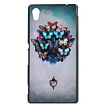 Butterfly Balloom Pattern PC Hard Case for Sony Xperia M4 Aqua