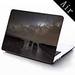 diseño de la galaxia Vía Láctea funda protectora de cuerpo completo de 11 pulgadas / 13 pulgadas de aire nuevo macbook