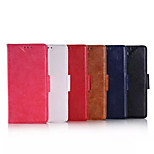 5.2 Inch PU Leather Case with Stand for Huawe P8 (Assorted Colors)