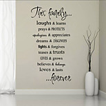 Cartoon / Words & Quotes Wall Stickers Plane Wall Stickers Decorative Wall Stickers,PVC Material Washable / Removable Home DecorationWall