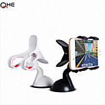 Dash + Windshield GPS Car Mount holder for Iphone6, 60 degree Rotating Car Windshield Mount Holder