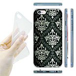 Palace Murals Grain TPU Soft Back Case for iPhone 6/6S