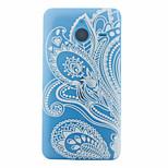 Semi Flowers Pattern Slim TPU Material Soft Phone Case for Nokia 640 XL