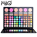 MSQ® 78 Color Eye Shadow Shimmer/Matte/Mineral Eyeshadow Palette Powder Professional Halloween Makeup/Party makeup/Smokey makeup Makeup Palettes