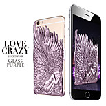 Angel Wings Pattern PC Hard Back Case Cover for iPhone 6(Assorted Colors)
