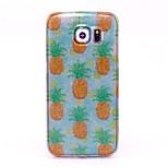 kleine ananas patroon met glinsterende TPU zachte hoes voor Samsung Galaxy S3 / s3mini / S4 / S4 min / s5 / s6 / s6 edge