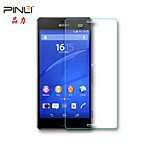 Pinli 9H 2.5D 0.33mm Real Anti Blue Light Eyes Care Tempered Glass Screen Protector For sony Z3 L55T