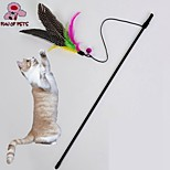 FUN OF PETS® Lovely  Bird Shaped Playing Stick for Pet Cats