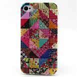 Folk-Custom  Pattern TPU Phone Case for iPhone 4/4S