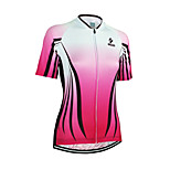 Arsuxeo Women's Short Sleeve Cycling Jerseys Quick Dry Breathable Clothing