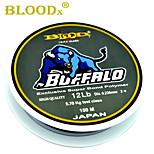 BLOODX BUFFALO, 150m  I.G.F.A Class Exclusive Super Bond Polymer Line, Japan Material, 0.165mm-0.5mm