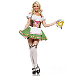 German Girls Terylene & Spandex Halloween Female Oktoberfest Costumes