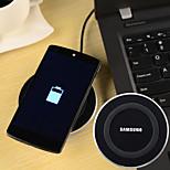 carregador sem fio padrão qi universal para Samsung S6 / nexus 5 + mais - cores sortidas
