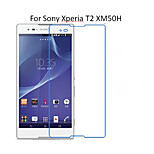 5PCS HD Clear Transparent Screen Protector Film For Sony Xperia T2 XM50H