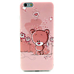 Cubs Pattern TPU Material Phone Case for iPhone 6