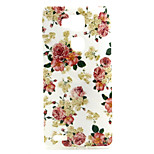 Rose  Pattern TPU Soft Case for Huawei Mate 7