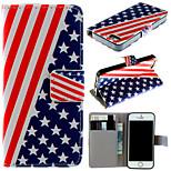 modello di bandiera con il sacchetto di carta della cassa completo del corpo per iphone 5 5s