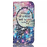 Star Dreamcatcher Pattern PU Leather Phone Case For iPhone 5/5S