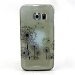 pampeliška vzor třpytky TPU mobilní telefon soft shell pro Galaxy S3 / S4 / S5 / S6 / s6 hrany / s3mini / S4 mini