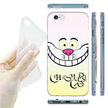 Smile Animal Pattern TPU Soft Back Case for iPhone 6/6S