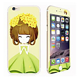 Winter Jasmine Girl Glitter HD Scratch-Proof Before Glass Protection Film for iPhone 6