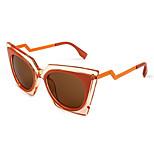 Women's 100% UV400 Cat Eye Fashion Sunglasses
