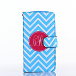 Blue and White Anchor Pattern PU Leather Full Body Case with Stand for Multiple LG G3/G3MINI/L90