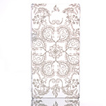 Lace Flower Pattern Pierced Hard Back Case for Sony Xperia M2