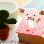 High Quality Creative Energy Saving Ideas Unplugged Battery Small Night Lamp Light Card (Random color)