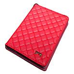 Klapp Rhombus PU Ledertasche mit Ständer für iPad mini 1/2/3 (verschiedene Farben)